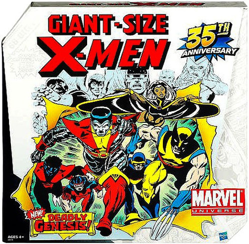Marvel Universe Exclusives Giant Size X-Men Exclusive Action Figure Set