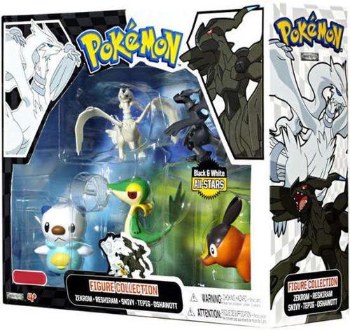 Black & White All-Stars Pokemon Figure Collection Exclusive