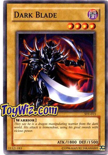YuGiOh Yugi Evolution Deck Common Dark Blade SYE-015