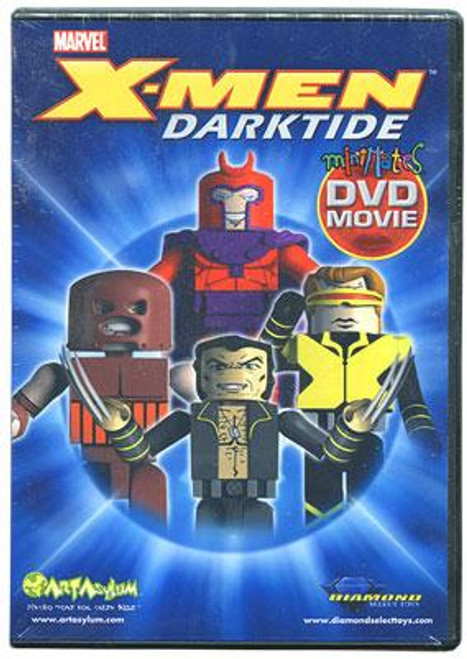 Marvel Minimates X-Men Darktide DVD [No Figures]
