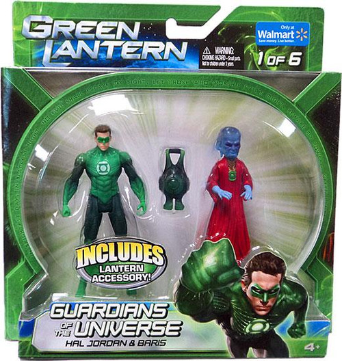 Green Lantern Movie Guardians of the Universe Hal Jordan & Baris Exclusive Action Figure 2-Pack #1 of 6