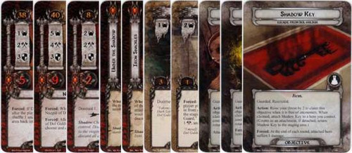 The Lord of the Rings The Card Game Lord of the Rings LCG Escape From Dol Guldur Encounter Set [15 cards]