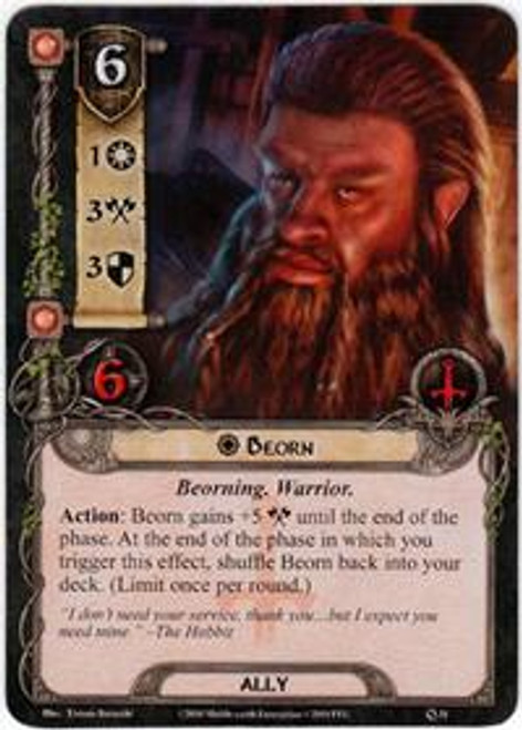 The Lord of the Rings The Card Game Core Set Rare Beorn #31