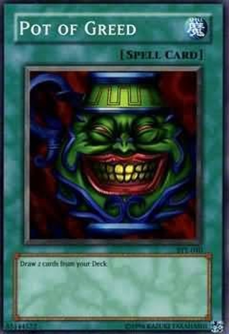 YuGiOh Yugi Evolution Deck Common Pot of Greed SYE-040