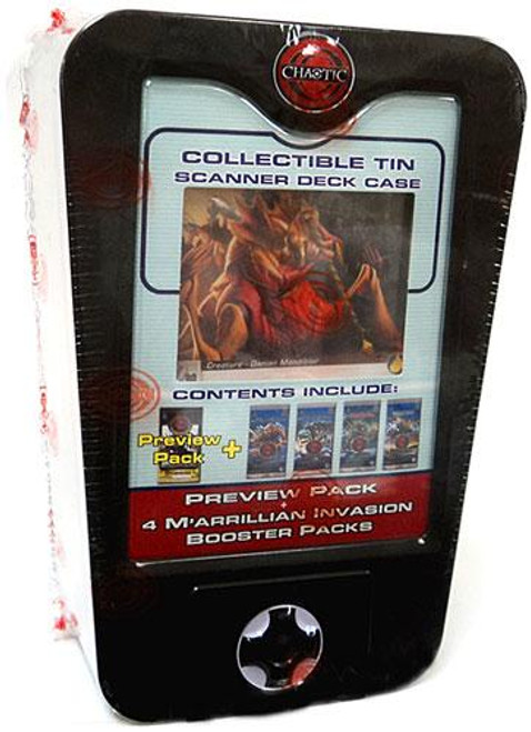Chaotic 2009 Scanner Deck Box Preview Pack Collectible Tin [Gray]