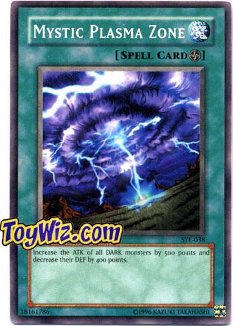 YuGiOh Yugi Evolution Deck Common Mystic Plasma Zone SYE-038