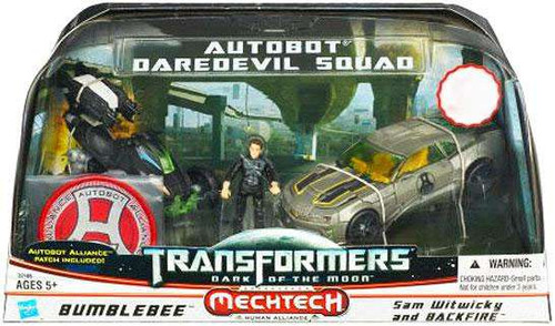 Transformers Dark of the Moon Mechtech Autobot Daredevil Squad Exclusive Action Figure Set
