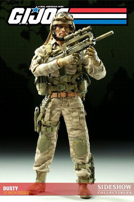 GI Joe Dusty 1/6 Collectible Figure