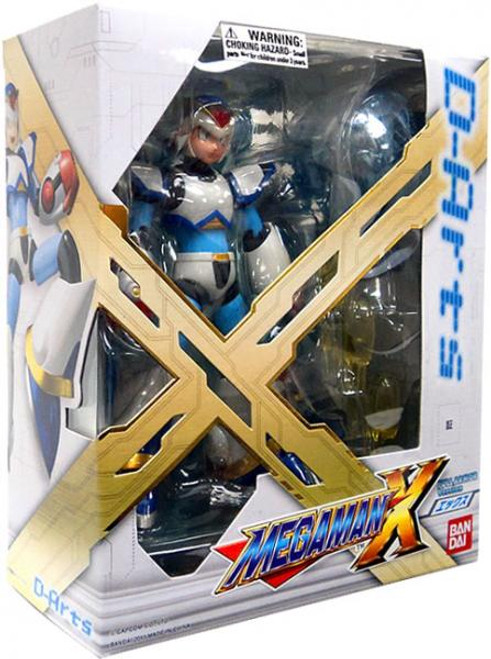 D-Arts Mega Man X Action Figure [Full Armored Version]