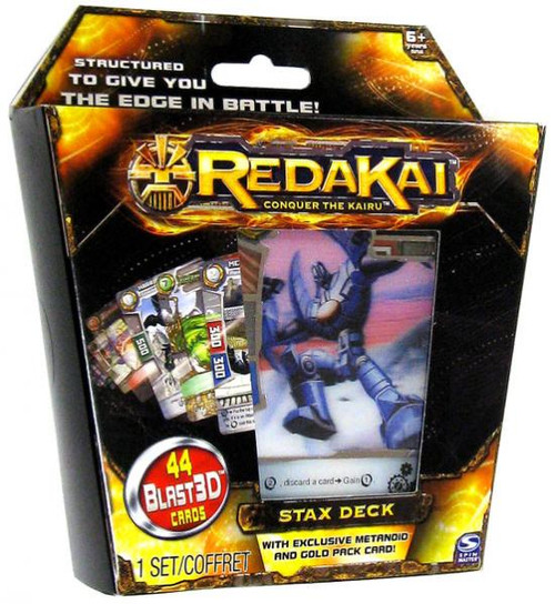 Redakai Conquer the Kairu Stax Structure Deck