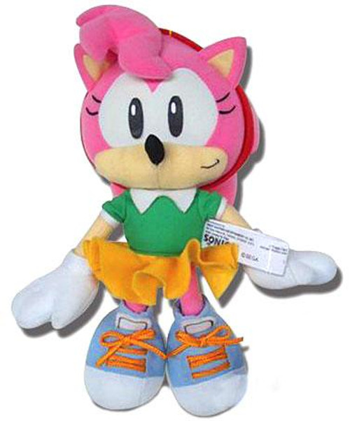 Sonic The Hedgehog Amy 8-Inch Plush Figure [Classic]