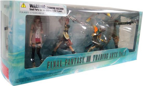 Final Fantasy XIII Trading Arts Volume 1 Action Figure Set