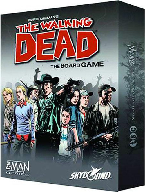 Comic Games The Walking Dead The Board Game