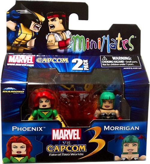 Marvel vs Capcom 3 Minimates Series 1 Phoenix Vs. Morrigan Minifigure 2-Pack