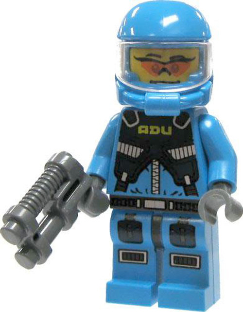 LEGO Alien Conquest Loose Alien Defense Unit Soldier Minifigure #853301 [Glasses]