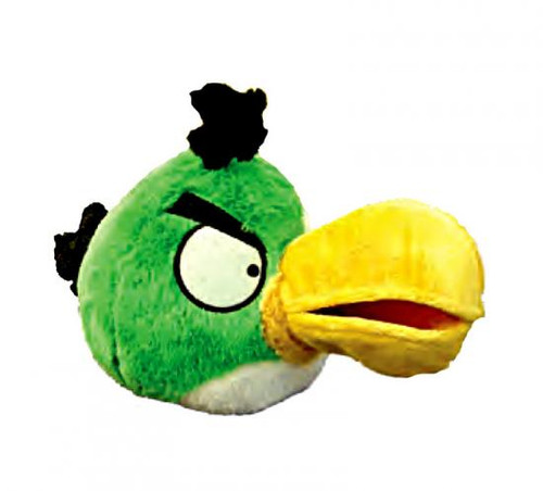 Angry Birds Toucan 5-Inch Plush [Green Bird, With Sound]