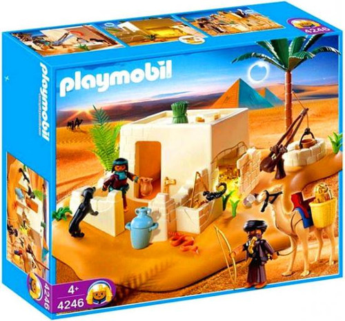 Playmobil Romans & Egyptians Tomb with Treasure Set #4246