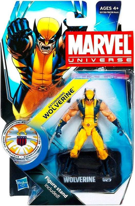 Marvel Universe Series 16 Astonishing Wolverine Action Figure #25