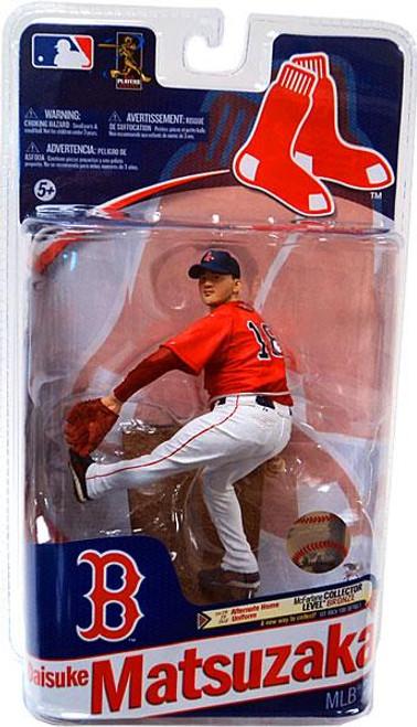 McFarlane Toys MLB Boston Red Sox Sports Picks Series 28 Daisuke Matsuzaka Action Figure [Red Jersey]