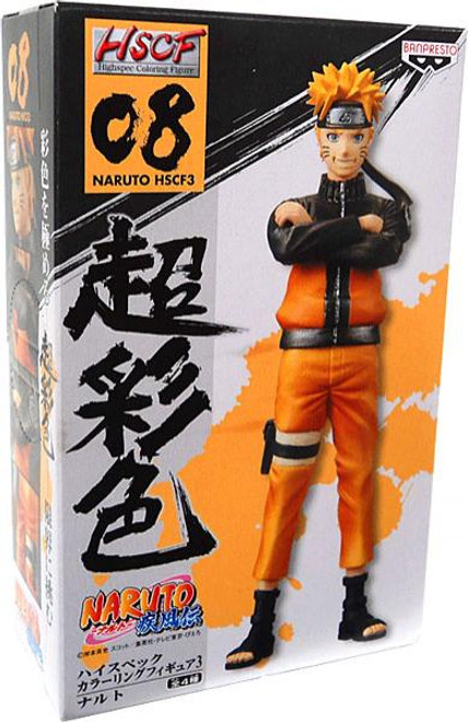Shippuden Highspec Coloring Figure Naruto Uzumaki Figure #08