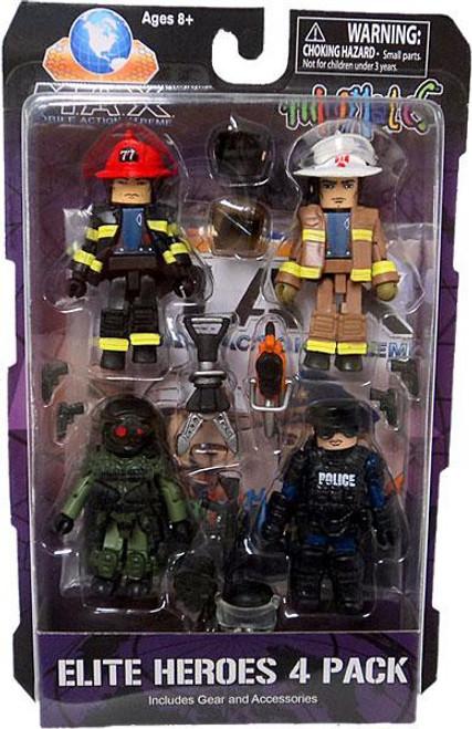 Max Elite Heroes Minimates Minifigure 4-Pack