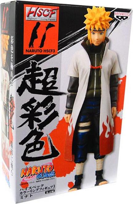 Naruto Shippuden Highspec Coloring Figure Minato Figure #11