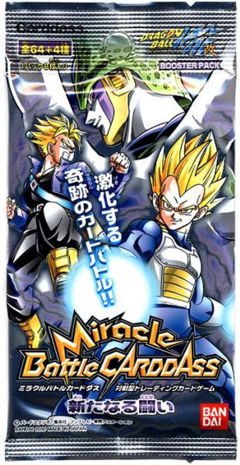 Dragon Ball Miracle Battle Carddass New War Booster Pack