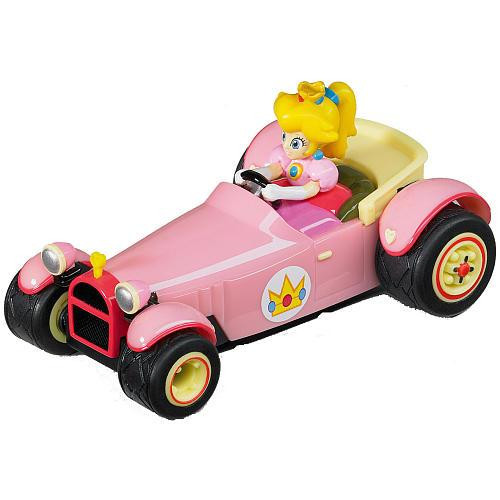 Super Mario Mario Kart DS Pull & Speed Peach Royale 3.5-Inch Vehicle #19303