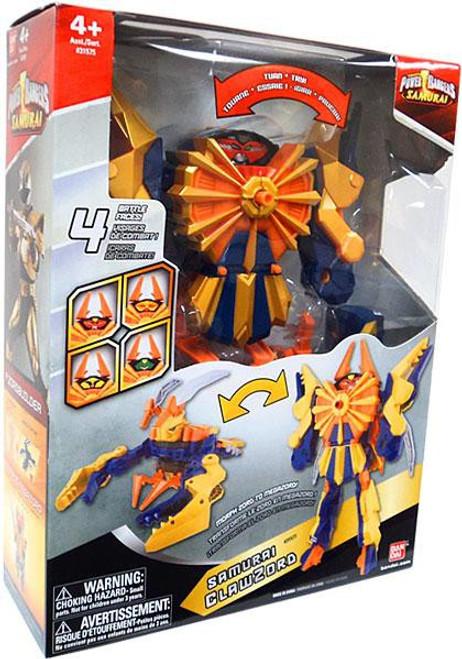Power Rangers Deluxe DX Samurai ClawZord Action Figure