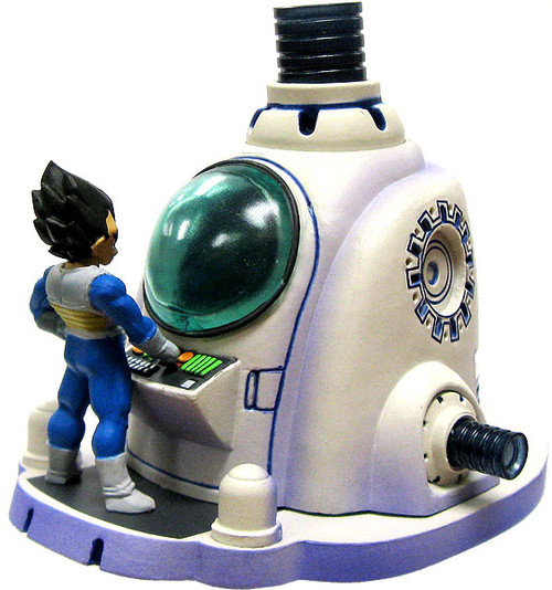 Dragon Ball Kai MegaHouse The Healing Machine 3.5-Inch Chase PVC Figure [Goku & Vegeta]