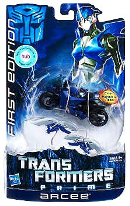Transformers Prime First Edition Deluxe Arcee Deluxe Action Figure