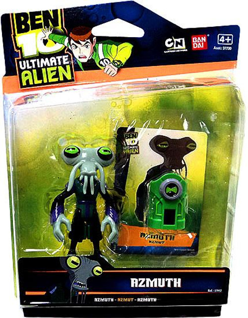 Ben 10 Ultimate Alien Azmuth Action Figure