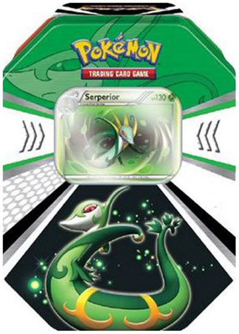 Pokemon Black & White Fall 2011 Evolved Battle Action Serperior Collector Tin