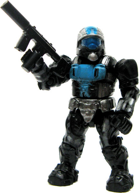 Mega Bloks Halo Loose ODST Urban Specialist 2-Inch Minifigure [Blue & Silver Loose]