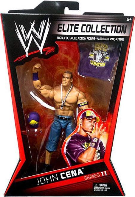 WWE Wrestling Elite Series 11 John Cena Action Figure