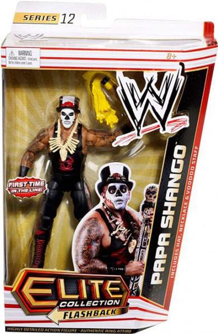 WWE Wrestling Elite Series 12 Papa Shango Action Figure