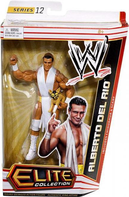 WWE Wrestling Elite Series 12 Alberto Del Rio Action Figure