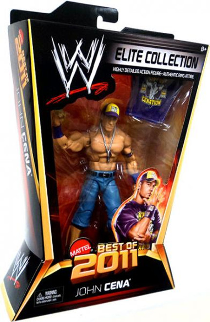 WWE Wrestling Elite Best of 2011 John Cena Action Figure