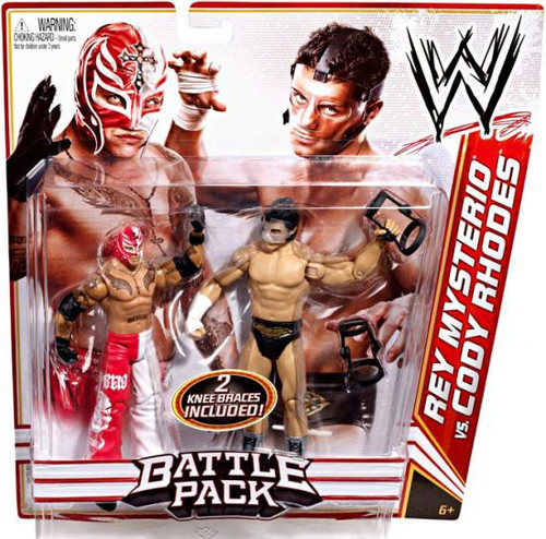 WWE Wrestling Series 13 Rey Mysterio vs. Cody Rhodes Action Figure 2-Pack [Grotesque]