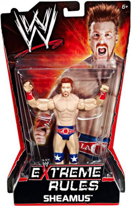 WWE Wrestling Extreme Rules Sheamus Action Figure