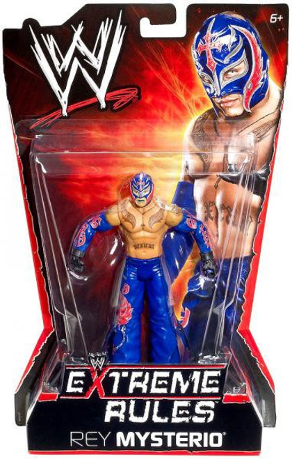 WWE Wrestling Extreme Rules Rey Mysterio Action Figure