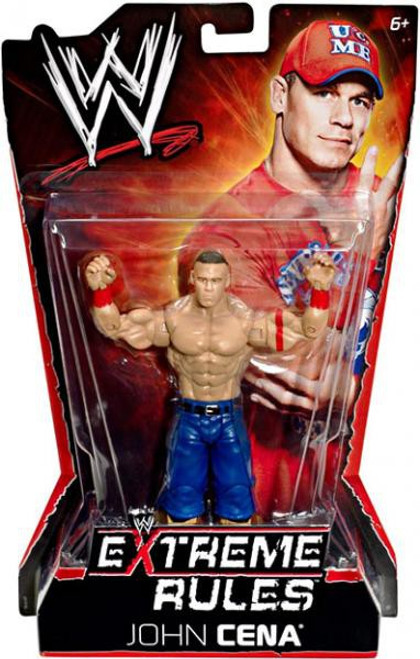 WWE Wrestling Extreme Rules John Cena Action Figure
