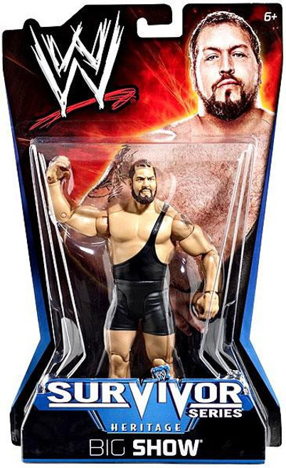WWE Wrestling Pay Per View Series 11 Survivor Series Heritage Big Show Action Figure