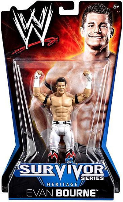 WWE Wrestling Pay Per View Series 11 Survivor Series Heritage Evan Bourne Action Figure
