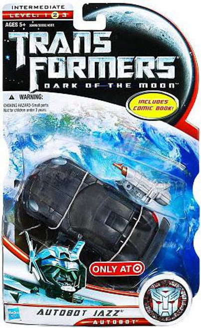 Transformers Dark of the Moon Autobot Jazz Exclusive Deluxe Action Figure