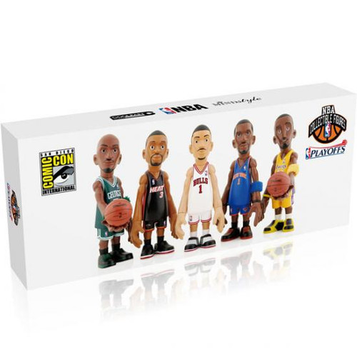 NBA Playoffs Exclusive 4-Inch Mini Figure 5-Pack