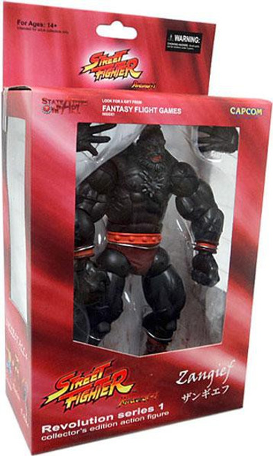 Street Fighter Revolution Series 1 Zangief Exclusive Action Figure [Metal Mecha]