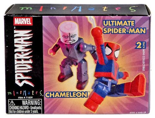 Minimates Series 7 Chameleon & Ultimate Spider-Man Minifigure 2-Pack