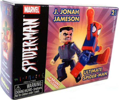 Minimates Series 7 J. Jonah Jameson & Ultimate Spider-Man Minifigure 2-Pack