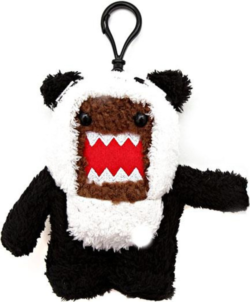 Domo Panda 4-Inch Plush Clip On